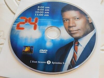 24 First Season 1 Disc 3 DVD Disc Only 35-69
