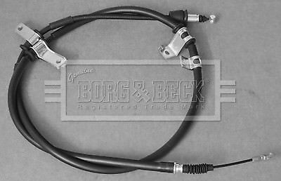 Handbrake Cable fits HYUNDAI i800 TQ 2.5D Left 2008 on With ABS D4CB Hand Brake