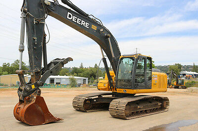 2012 Deere 200D Lc Excavator 4500Hrs Cab Heat/ac Hyd Thumb Qc Aux Hyd
