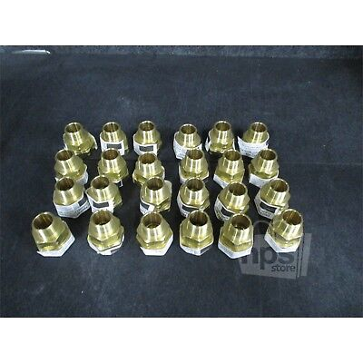 Set Of 24 Gastite Flash Shield XR3FTG-11-24 3/4In Straight Fitting- 3/4In NPT