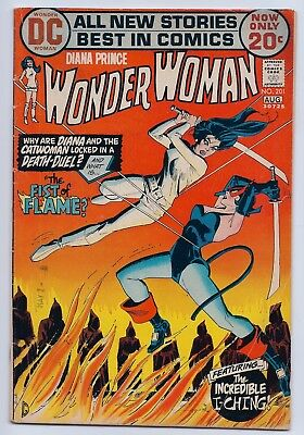 Wonder Woman 201 VG- 3.5 Bronze Age