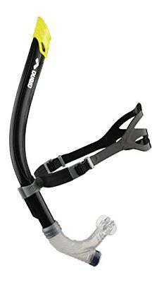 Arena unisex training tool Swim Snorkel, BLACK, one size