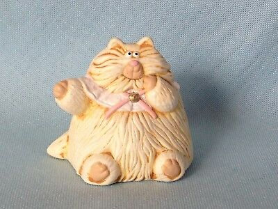 Hallmark Merry Miniature 1987 Maude Purrsonality Cat Kitten