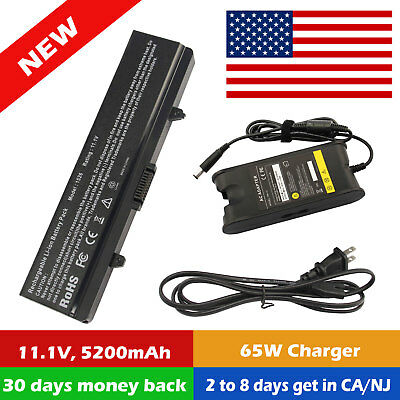 BATTERY or CHARGER for Dell Inspiron 1525 1526 1440 1545 1546 1750 GW240 X284G