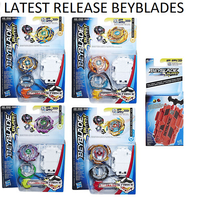 Hasbro Beyblade EVOLUTION Switch Strike + Launcher, Valtryek V3, Roktavor R3 etc