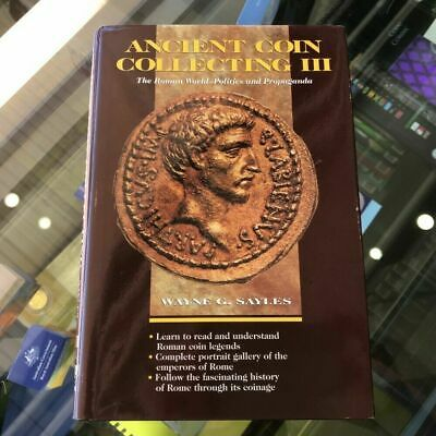 1997 Ancient Coin Collection Vol.III Hardcover by Wayne G.Sayles