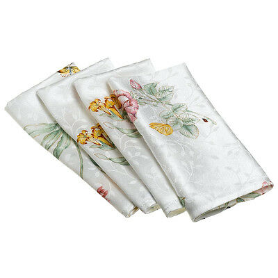 Lenox BUTTERFLY MEADOW Cloth Napkin ~ New With Tags!! ~ Sold Individually ~$9.00