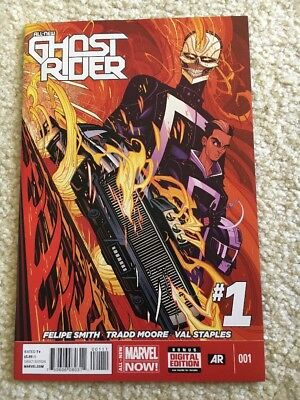Ghost Rider #1 Marvel 1st app. Robbie Reyes NM- ABC's Agent of S.H.I.E.L.D.