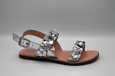 Gioseppo Sandals Baby Girl /Girl Colour Silver with Flowers Art. Flordelis