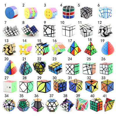 Various Magic Cube Fast Speed Cube Ultra-Smooth Twist Puzzle Toys for Kids Adult