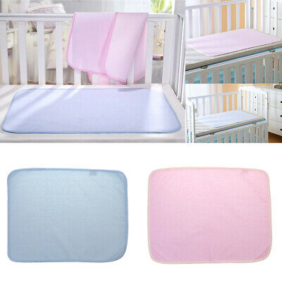 Waterproof Changing Diaper Pad Washable Newborn Baby Urine Mat Nappy Bed