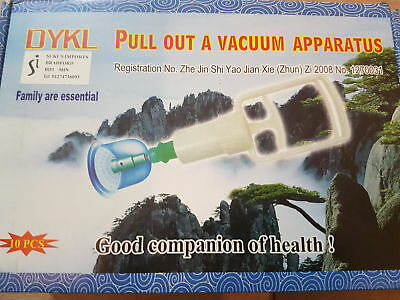 Acupuncture Wholesale 40 X 10 Cups & Pump Vacuum Cupping Set Suki's Imports