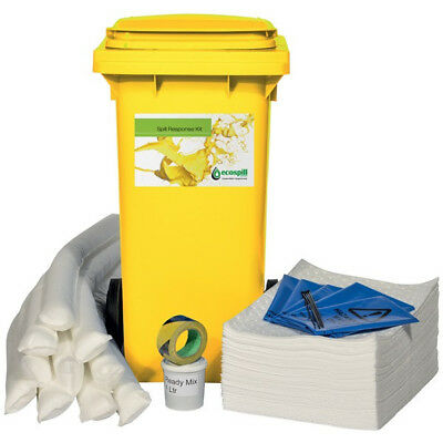 240ltr Oil Only Spill Kit OILSK240 Ecospill Genuine Top Quality Replacement New
