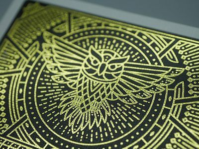 Knowledge Playing Cards // FOIL Backs by LEGENDS