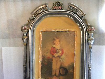 Antique Oil Painting (18th-19th Century) mounted in an Ornate Wooden  Frame