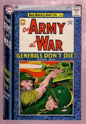 Our Army At War #147 1964-Sgt Rock Becomes A General-Dc Fn/vf
