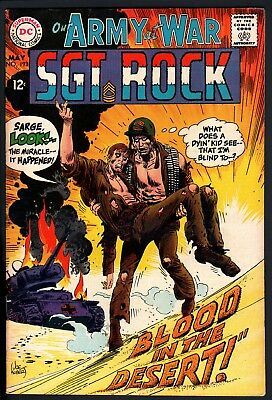 Our Army At War #193 '68-Dc Comic-Sgt Rock-Easy Company Vf