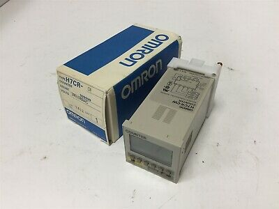 New Omron H7CR-CW Counter, Range: 0-999999, Voltage: 100-240VAC, 4-Digit LCD