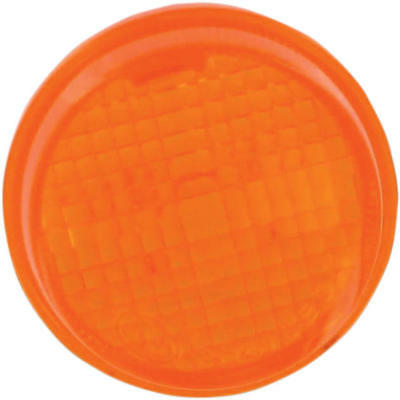 K&S DOT Turn Signal Replacement Lens Amber #25-1250 Honda