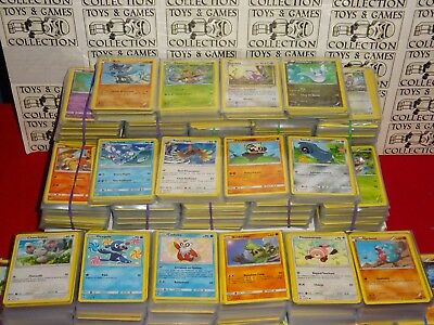 LOT 100 Cartes Pokemon Francaises 100% Pas de double NEUF + Brillante NO EX / GX