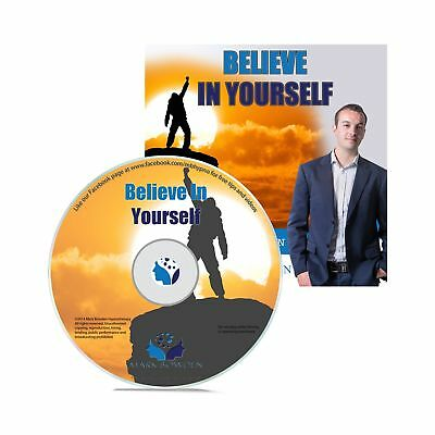 Believe In Yourself Self Hypnosis CD - Hypnotherapy CD to improve your Self E...