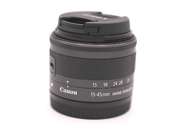 Canon EF-M 15-45mm f/3.5-6.3 IS STM Lens (Graphite) for EOS M M2 M3 M10