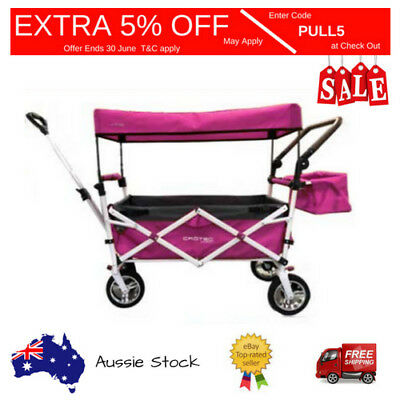 SALE SALE SALE Original Crotec Heavy Duty CT600 - PINK  Folding Wagon/  Shop/ Sp
