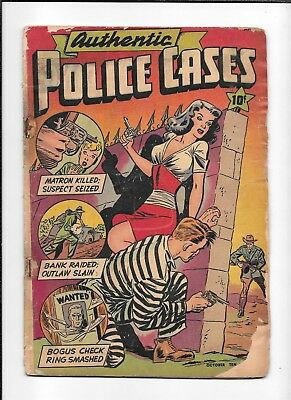 Authentic Police Cases #5  ==> Fa Excellent Gga Jack Cole St. John 1948