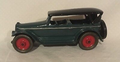 """AC Williams Lincoln Touring Car LARGE SIZE Cast Iron Toy 9""""s long"""