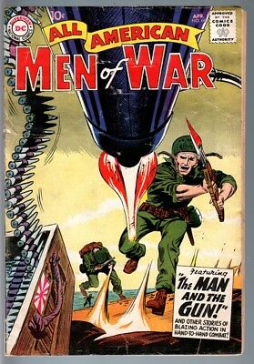 All American Men Of War #68-1959-Wwii-Dc-Silver Age Vg-