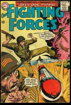 Our Fighting Forces #88 1964-Joe Kubert Cover Vg