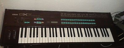 SYNTH YAMAHA DX7 First Model Mk I Brown Limited Edition Only Init Voice No  Banks