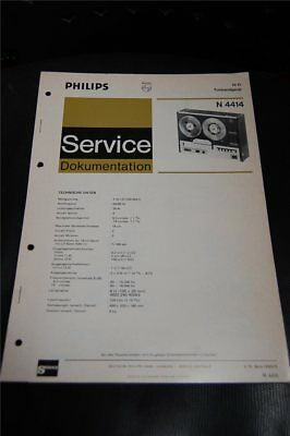 Service Manual   Philips  N4414