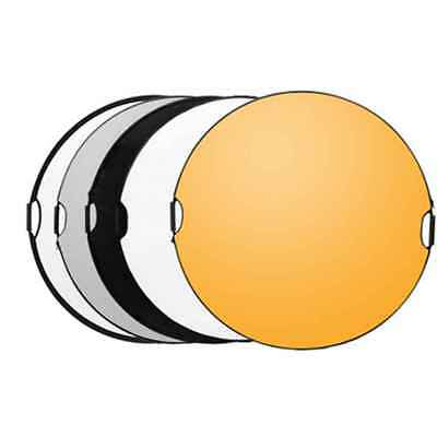 65cm Round Photography Reflector 5 in 1 Lighting Mulit Collapsible Photo