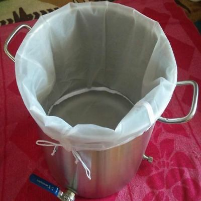 GREAT PRICED BUCKET Whiskey brew beer filter fine mesh grain bag