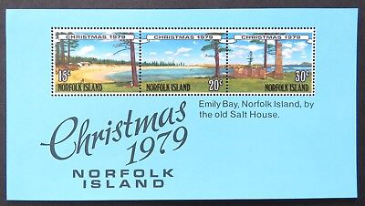 1979 Norfolk Island Stamps - Christmas 1979 Mini Sheet MNH