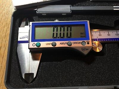 "iGaging Digital Caliper Absolute Origin Smart Bluetooth IP54 6""/150mm"