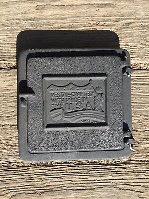 Cleanout Door Heavy Cast Iron 8x8 Inside Opening Made In USA Vestal H88  (New)
