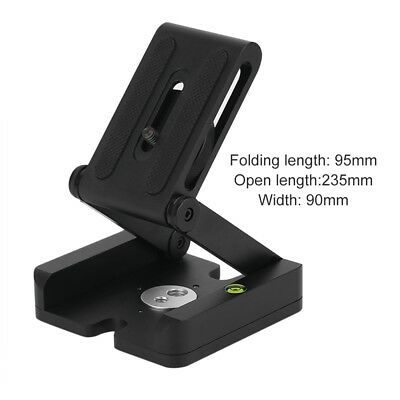 Folding Z Type Stand Holder Professional Tripod Kit Flex Tilt Head Pan EW
