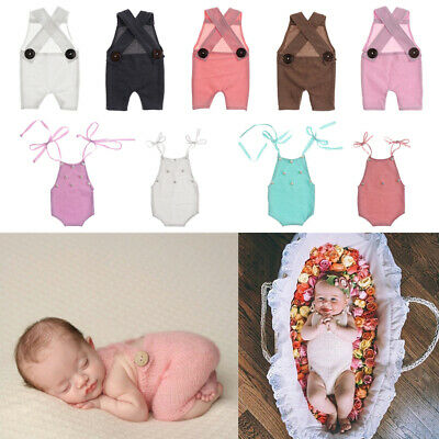 Newborn Infant Baby Boy Girl Photography Prop Costume Cute Crochet Knit Pants