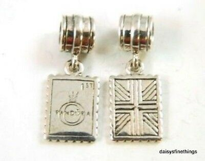 """Nwt Authentic Pandora Silver Charm Greetings From London #791273  """"retired"""""""