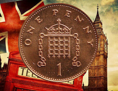 1p Coin one Pence Coins