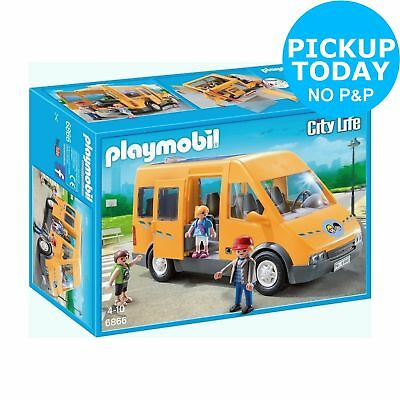 Playmobil 6866 City Life School Bus From The Official Argos On Ebay
