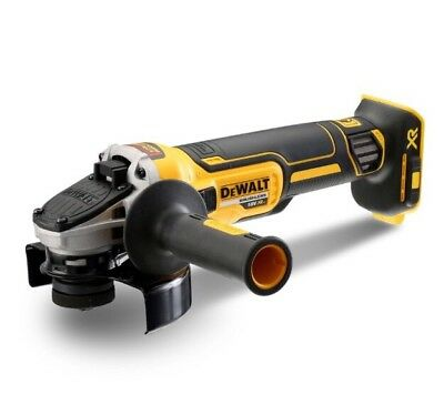 "DeWalt DCG405N 18V XR Brushless Cordless 125mm (5"") Slide Switch Angle Grinder"