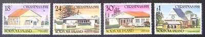 1981 Norfolk Island Stamps - Christmas - Set of 4 MNH