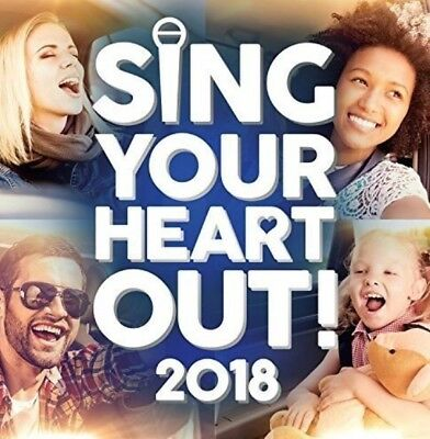 Various - Sing Your Heart Out 2018 - BRAND NEW SEALED 2CD
