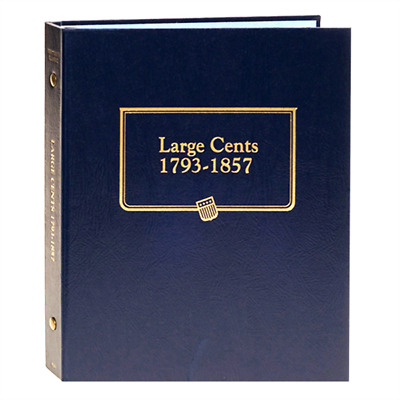 Whitman Classic Coin Album 9110 Large Cents 1793-1857