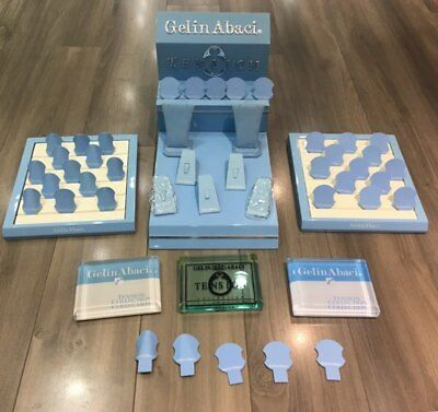 Gelin Abaci Dealer's Display With Ring & Necklace Props, Wish Lists & 3 Plaques