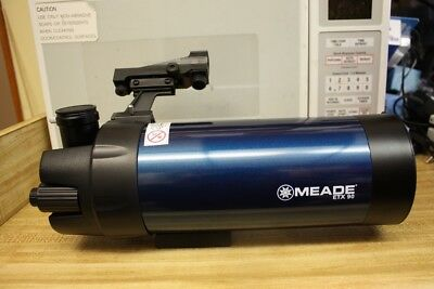 Meade ETX-90 90mm Maksutov Optical Tube Spotting Scope or Telescope with UHTC