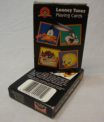 1 NEW SEALED 1999 LOONEY TUNES Playing Cards No. 225 + 2nd DECK used unsealed